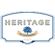 This is the restaurant logo for Heritage of Sherborn