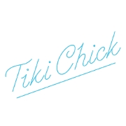 This is the restaurant logo for Tiki Chick