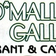 This is the restaurant logo for O' Malley's Galley Restaurant and Catering