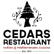 This is the restaurant logo for Cedars Restaurant