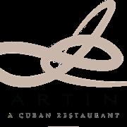 This is the restaurant logo for De Martino, A Cuban Restaurant