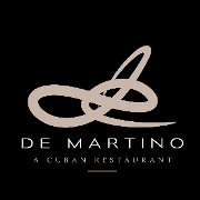 This is the restaurant logo for De Martino Restaurant