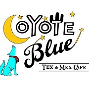 This is the restaurant logo for Coyote Blue Cafe