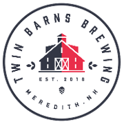 This is the restaurant logo for Twin Barns Brewing Company