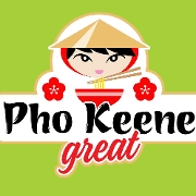 This is the restaurant logo for Pho Keene Great