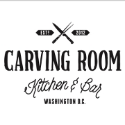 This is the restaurant logo for Carving Room