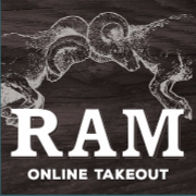 This is the restaurant logo for Ram