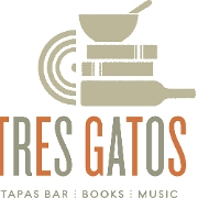 This is the restaurant logo for Tres Gatos