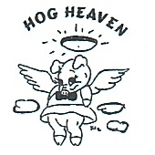 This is the restaurant logo for Hog Heaven
