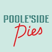 This is the restaurant logo for Poole'side Pies