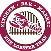 This is the restaurant logo for Lobster Trap