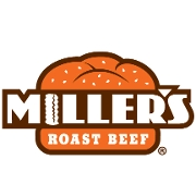 This is the restaurant logo for Miller's Roast Beef