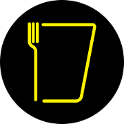 This is the restaurant logo for Fork & Tap