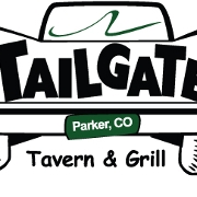 This is the restaurant logo for Tailgate Tavern & Grill