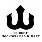 This is the restaurant logo for Trident Booksellers & Cafe