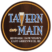 This is the restaurant logo for Tavern on Main