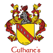 This is the restaurant logo for Culhane's Irish Pub