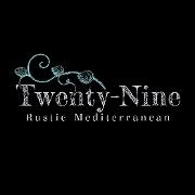 This is the restaurant logo for Twenty-Nine Rustic Mediterranean