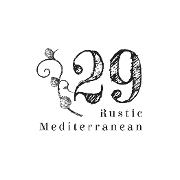 This is the restaurant logo for 29 Rustic