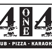 This is the restaurant logo for 414 Pub & Pizza