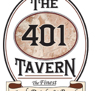 This is the restaurant logo for 401 Tavern