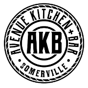 This is the restaurant logo for Avenue kitchen + bar