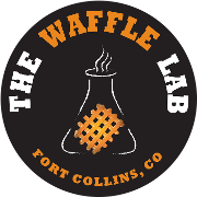 This is the restaurant logo for The Waffle Lab