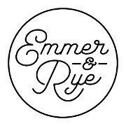 This is the restaurant logo for Emmer & Rye