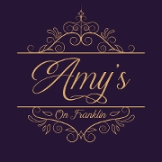This is the restaurant logo for Amy's on Franklin