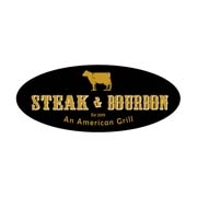 This is the restaurant logo for Steak & Bourbon