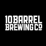 This is the restaurant logo for 10 Barrel Brewing