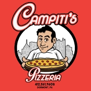 This is the restaurant logo for Don Campiti's Pizzeria