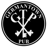 This is the restaurant logo for Germantown Pub