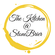 This is the restaurant logo for The Kitchen @ Stonebrier