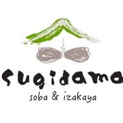 This is the restaurant logo for Sugidama soba & Izakaya
