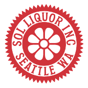 This is the restaurant logo for Sol Liquor Lounge
