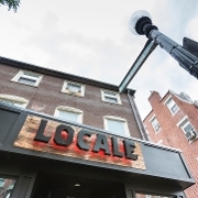 This is the restaurant logo for Locale