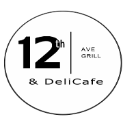 This is the restaurant logo for 12th Ave Grill & Deli Cafe