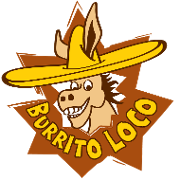 This is the restaurant logo for Burrito Loco
