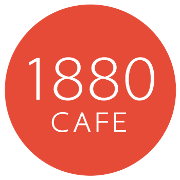 This is the restaurant logo for 1880 Cafe