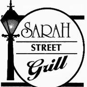 This is the restaurant logo for Sarah Street Grill
