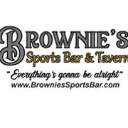 This is the restaurant logo for Brownie's Sports Bar & Tavern, LLC