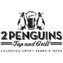 Restaurant logo for 2 Penguins Tap & Grill