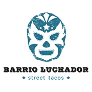 This is the restaurant logo for Barrio Luchador
