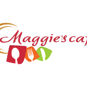 This is the restaurant logo for Maggie's Cafe