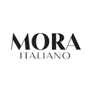 This is the restaurant logo for Mora Italiano