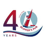 This is the restaurant logo for Skipper's Pub