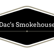 This is the restaurant logo for Dac's Smokehouse