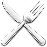This is the restaurant logo for Spoons, Soups, Salads & Sandwiches