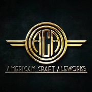 This is the restaurant logo for American Craft Aleworks